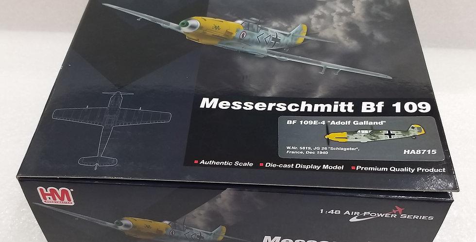 "HA8715 BF 109E-4 ""Adolf Galland"" W.Nr. 5819, JG 26 ""Schlageter"" France,"