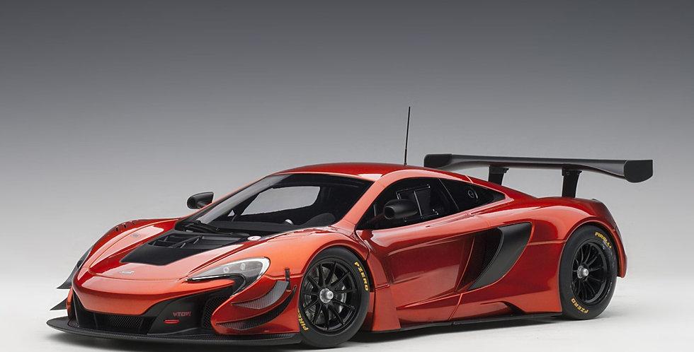 McLaren 650S GT3 Plain Body Version (Volcano Orange)