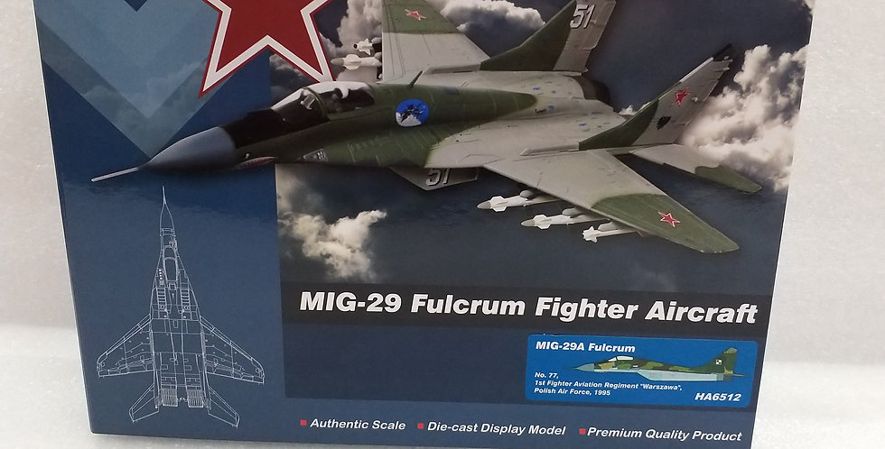 HA6512 MIG-29A Fulcrum No. 77, 1st Fighter Aviation Regiment, Polish Air Force,