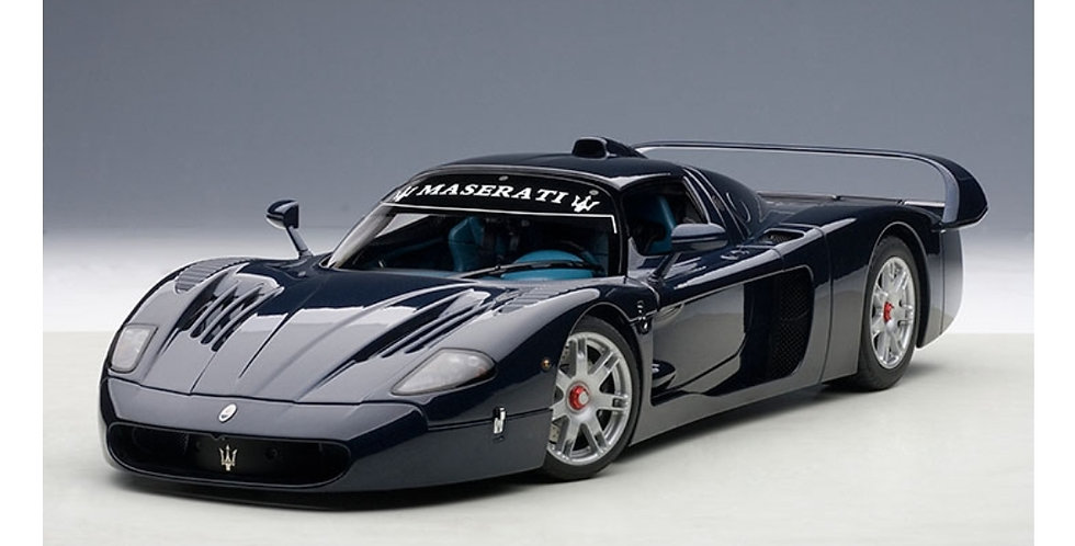 MASERATI MC12 ROAD CAR METALLIC BLUE Die Cast Model Fine Detail