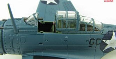 """HA0174 SBD-3 Dauntless """"LCDR C. Wade McClusky"""" Enterprise Air Group Commander ,"""