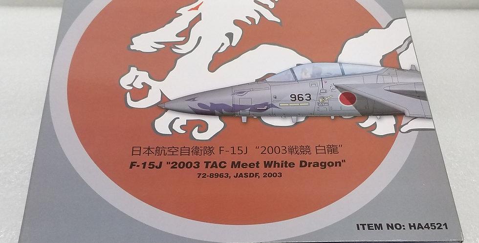 "HA4521 F-15J ""2003 TAC Meet White Dragon"" 72-8963, JASDF, 2003"