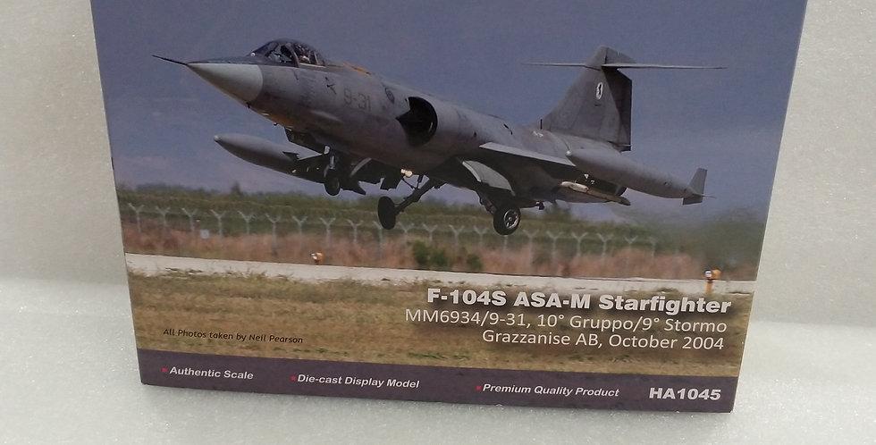 HA1045 F-104S ASA-M Starfighter MM6934/9-31, 10° Gruppo/9° Stormo Grazzanise AB