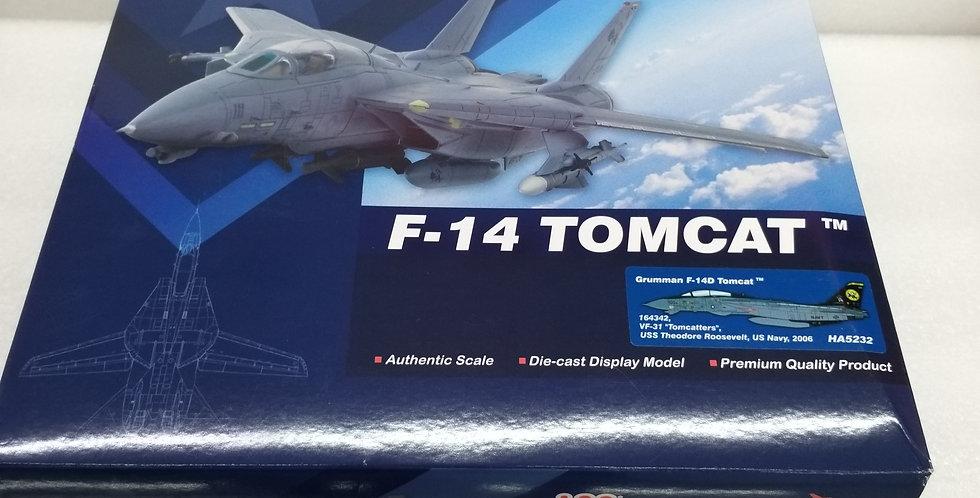 "HA5232 Grumman F-14D Tomcat 164342, VF-31 ""Tomcatters"", USS Theodore Roosevelt,"
