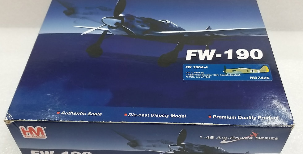 HA7426 FW 190A-4 I/JG 2, Gruppenkommandeur Oblt. Adolf Dickfeld, Tunisia