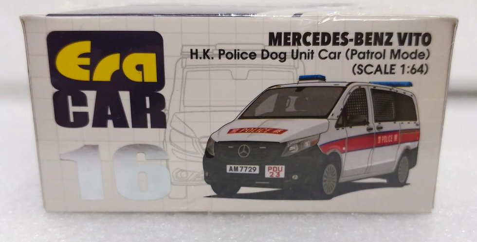 ERA 1/64 MERCEDES BENZ VITO H.K DOG UNIT CAR