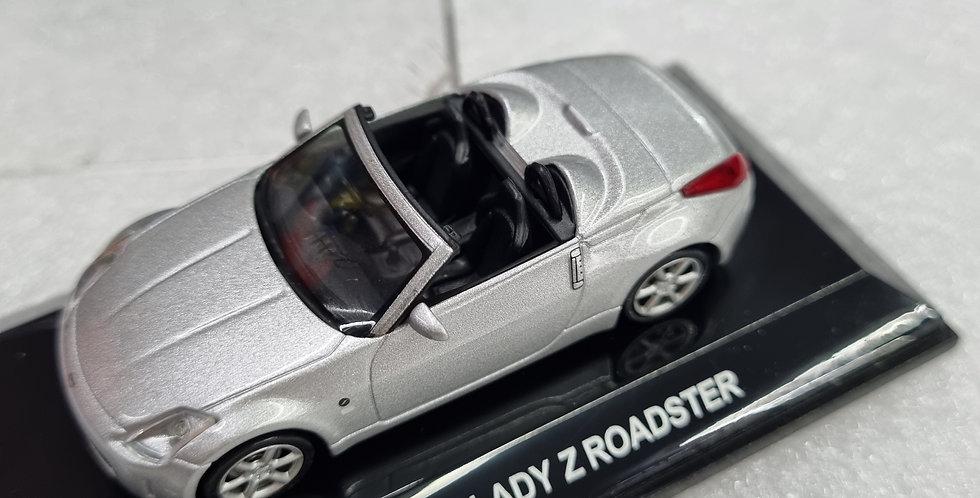 AA20501 NISSAN FAIRLADY Z ROADSTER DIAMOND SILVER