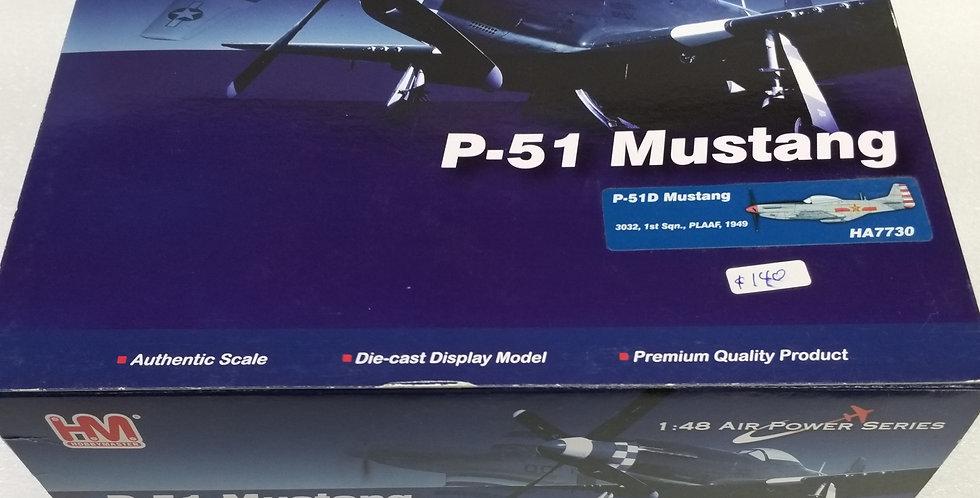 HA7730 P-51D Mustang 3032, 1st Sqn., PLAAF,