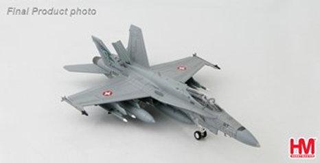 "7 HA3527 F/A-18C Hornet Swiss Air Force J-5017, 17 Staffel ""Falcons"
