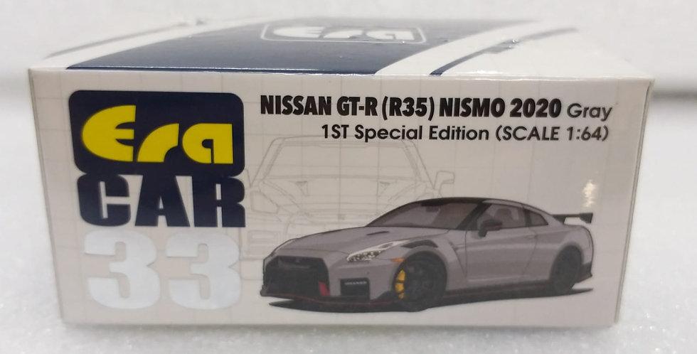 ERA 1/64 NISSAN GTR R35 NISMO 2020 GRAY MODEL