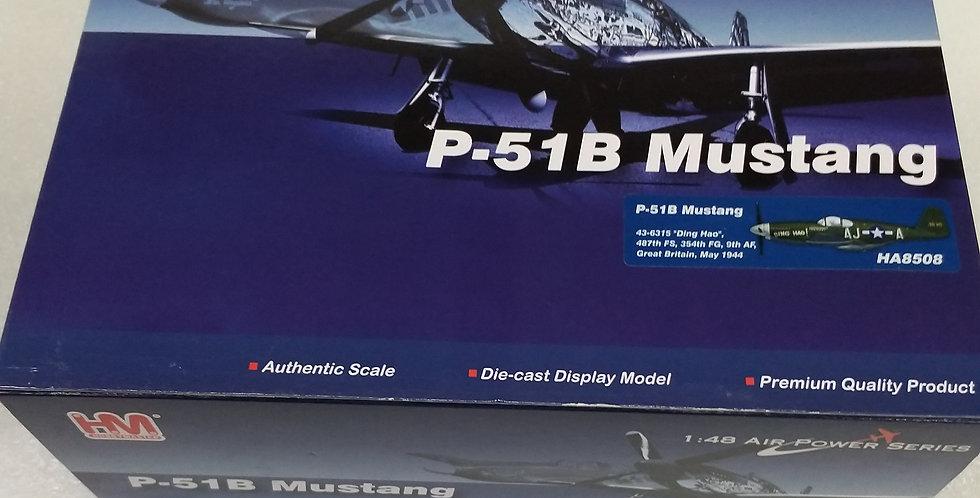 "HA8508 P-51B Mustang 43-6315 ""Ding Hao"", 487th FS, 354th FG, 9th AF,"