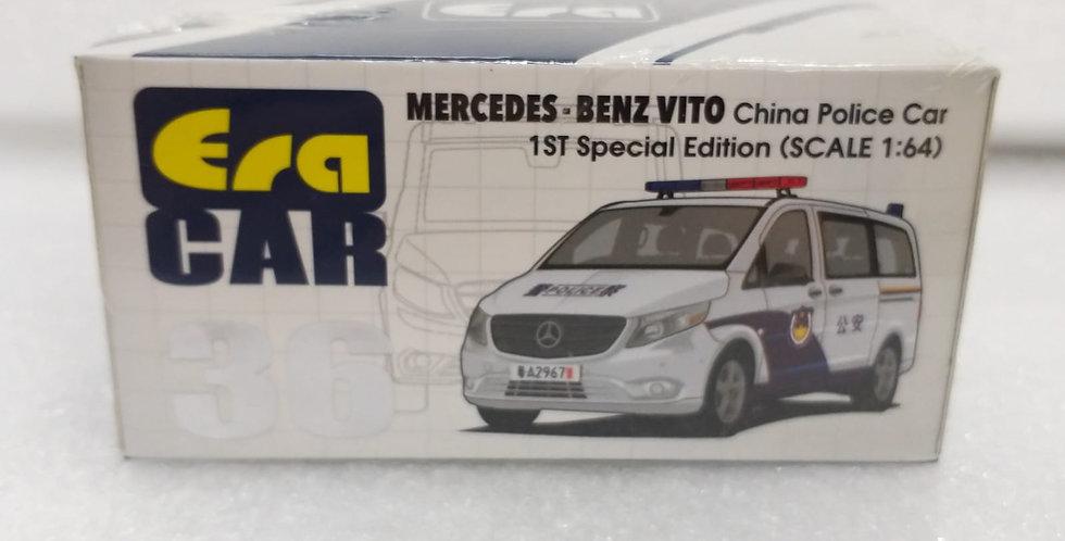ERA 1/64 MERCEDES BENZ VITO CHINA POLICE CAR 1ST SPECIIAL EDITION