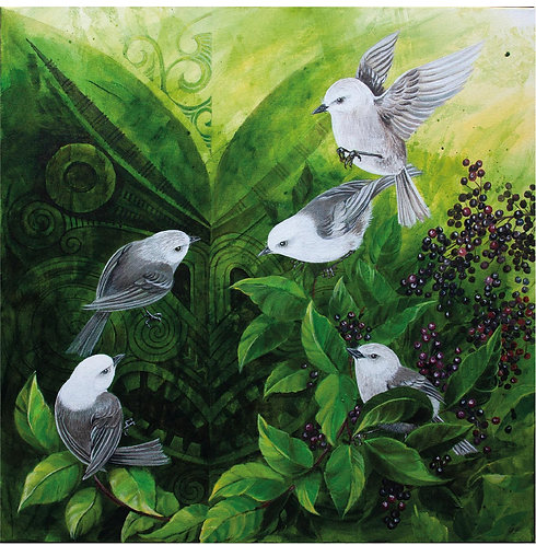 Greeting Card Square - Whiteheads