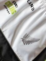 Fabric detail for Kiwi Cycling shirts