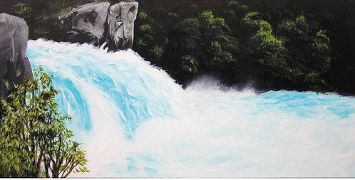 Greeting Card DL - Huka Falls, Taupo