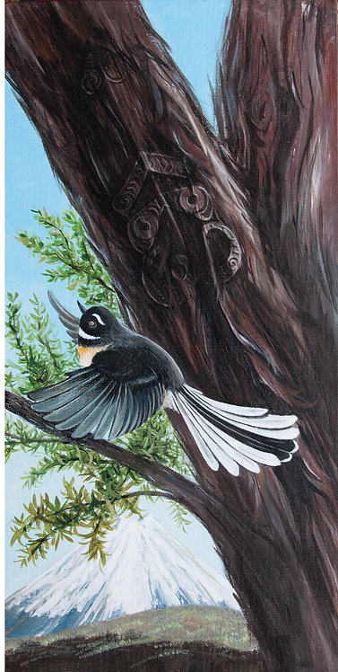 Greeting Card DL - Fantail