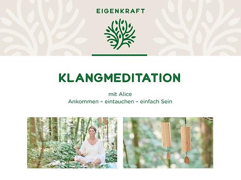 Gutschein Klangmeditation