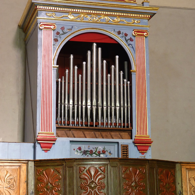 Concert à Contes - Christopher Hainsworth - orgue et cinema muet / Jean-Pierre Dubois, présentation