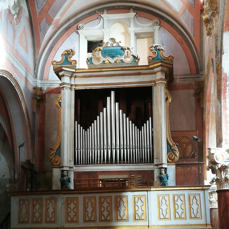 Concert à Saorge - Concert de la semaine de l'orgue