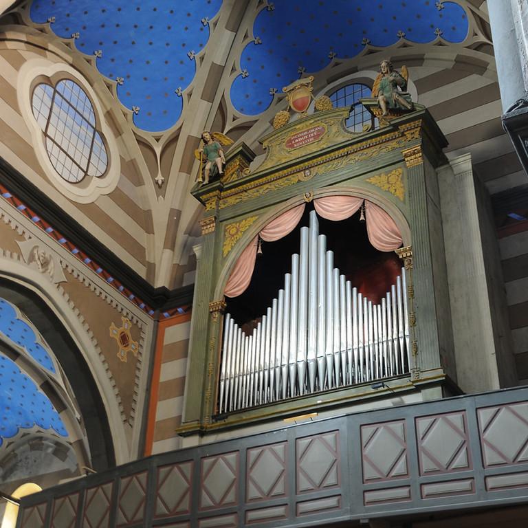 "Concert à Tende - Norberto Broggini - L'orgue à Naples : du ""stile osservato"" au mélodrame"
