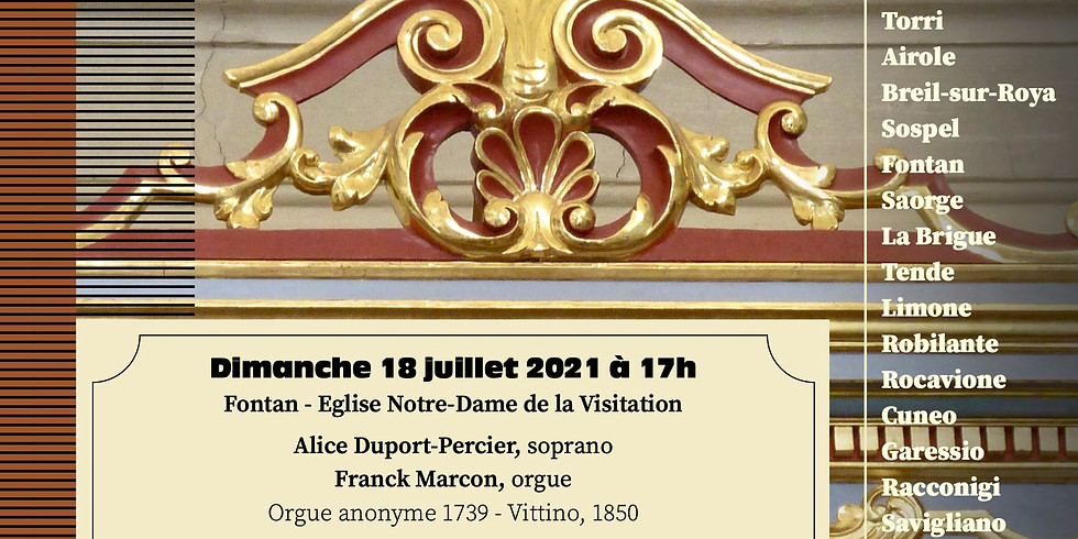 Festival international d'orgue - Tende
