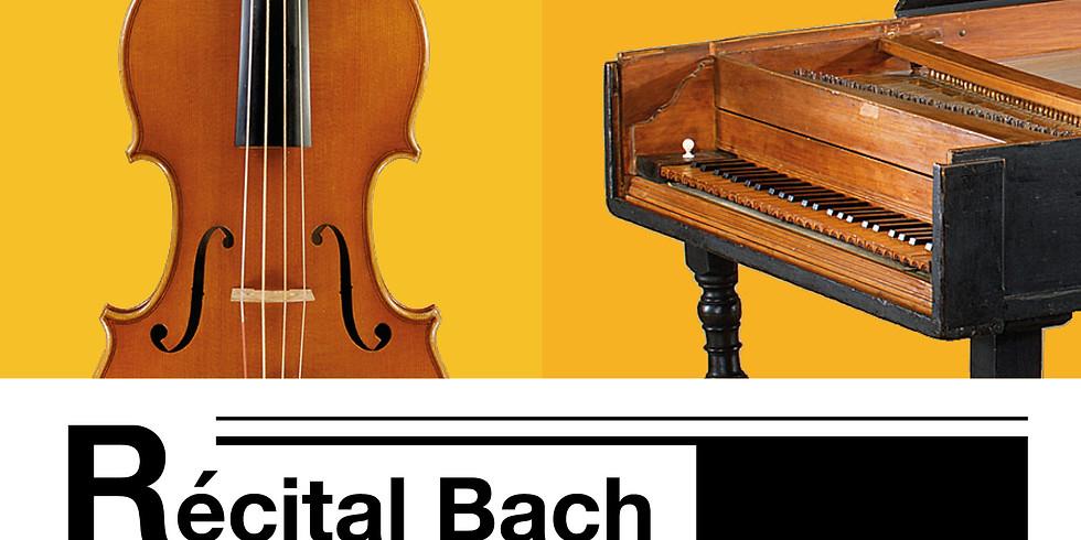 Concert médiation - Récital Bach