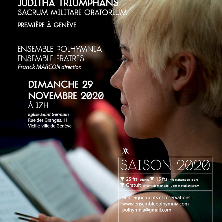 Antonio Vivaldi - Juditha triomphans - concert reporté