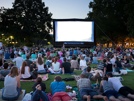 Movie Parties on the Lawn!