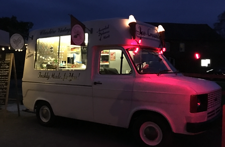 e0b9c03185 Cheshire Vintage Fair. Bonnie   Clyde Desserts. Vintage Ice Cream Van Hire