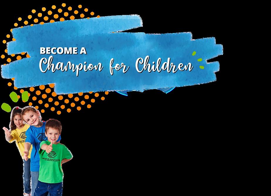 Updated Champion for Children Banner .pn