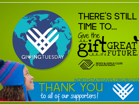 #GivingTuesday…The Clock Is Ticking