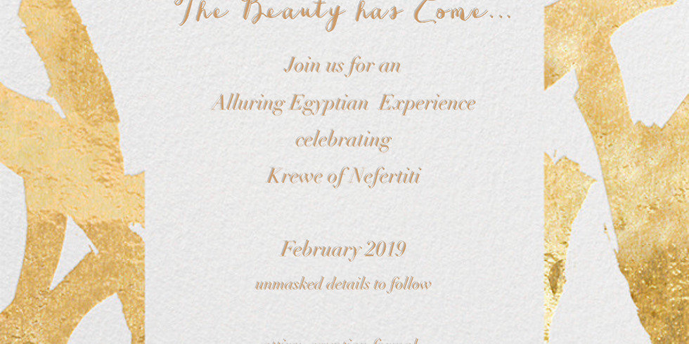 The Beauty has Come... An Alluring Egyptian Experience