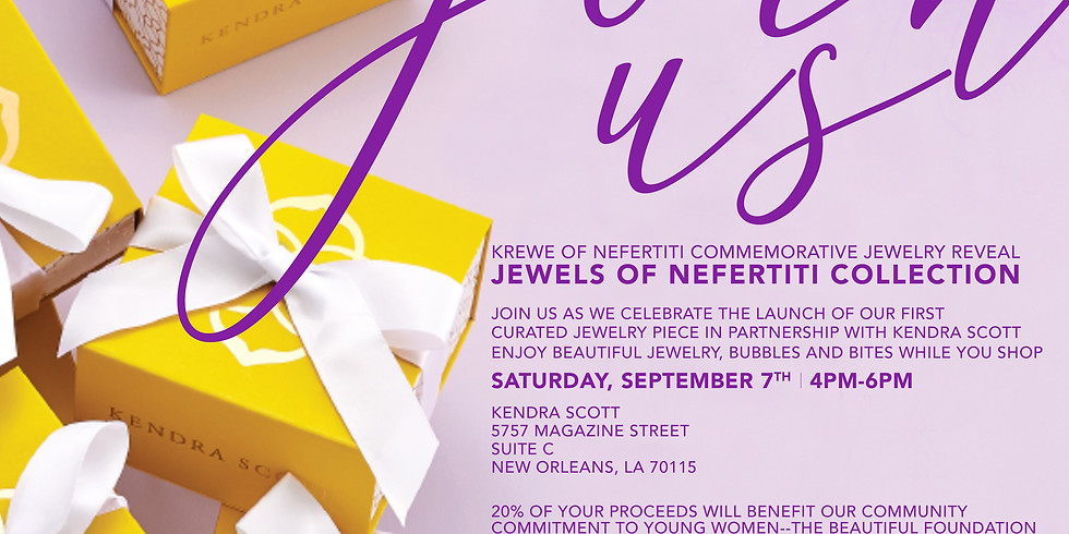 Krewe of Nefertiti Commerative Jewerly Reveal