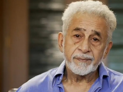 I love being on the stage and will continue even if no one turns up: Naseeruddin Shah.