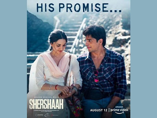 Kiara Advani's first look from Shershaah out.