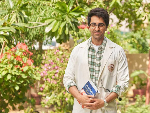 Doctor G first look: Ayushmann Khurrana dons a lab coat as he plays a medical student.