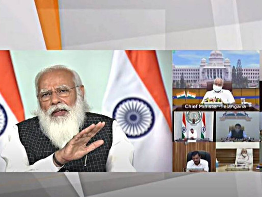 PM Modi at Covid review meet: Keep focus on test and trace, let's not jump the gun on vaccines.