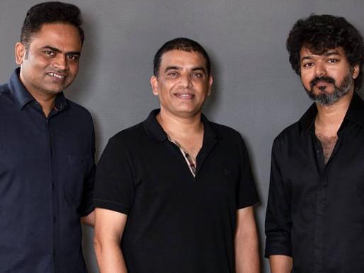 Vijay collaborates with Dil Raju and Vamshi Paidipally for Thalapathy 66.