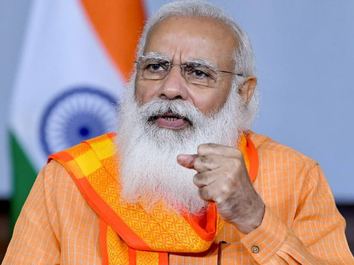 PM Modi asks ministers to spread awareness among people about vaccination, Covid protocols.