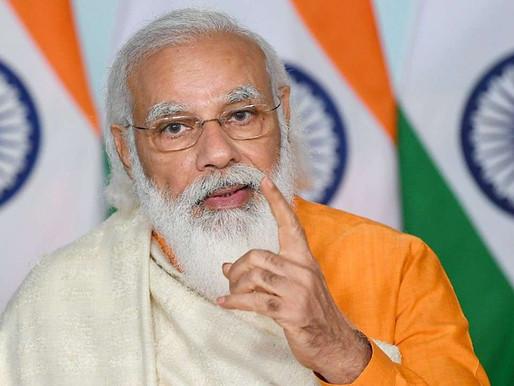 PM Modi reviews progress of oxygen augmentation, availability across country.