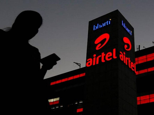 Bharti Airtel sells 800 MHz spectrum in three circles to Reliance Jio for Rs 1,037.6 crore.