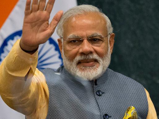 PM Modi lauds India's cricket win over Australia.