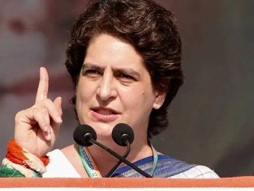 Priyanka alleges police attack on Dalits in Azamgarh, SP says constables attacked.