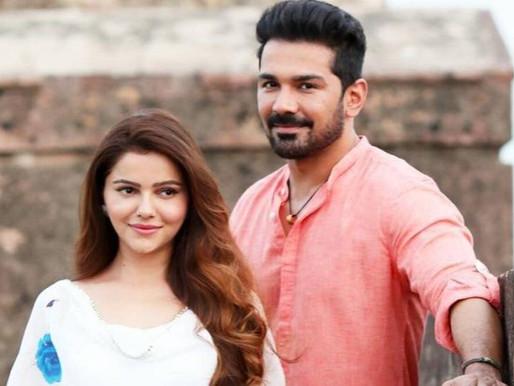 Rubina Dilaik and Abhinav Shukla set to share screen space in a music video.