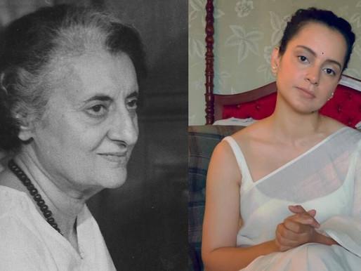 Kangana Ranaut all set to play former PM Indira Gandhi.