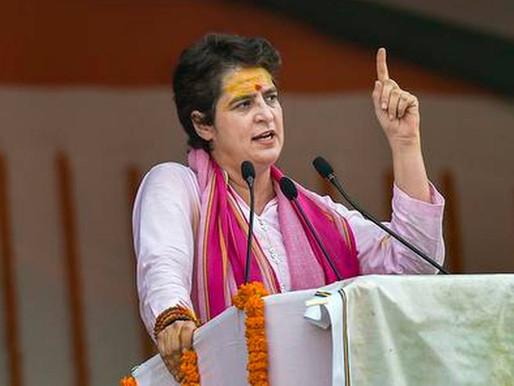 Priyanka Gandhi: Govt shielding minister & son; Modi can tour world but won't meet farmers.