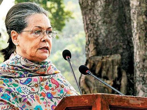 'Long and healthy life,' PM Modi, Nitin Gadkari wish Sonia Gandhi on her birthday.
