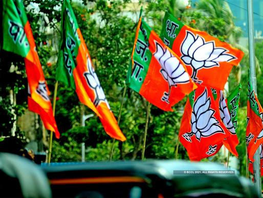 BJP nominates eight Muslim candidates in Okha municipality.