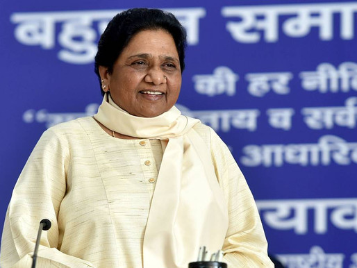 Why is Congress high command silent over killing of Dalit man in Rajasthan, asks Mayawati.