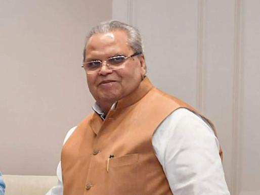 BJP govt won't return to power if farmers' demands not met: Satya Pal Malik.